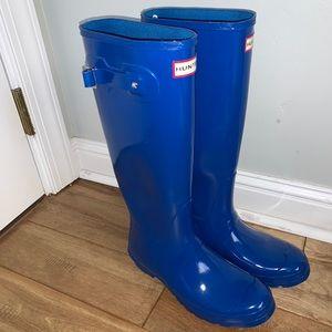 Like new Hunter Rain boots sz 10